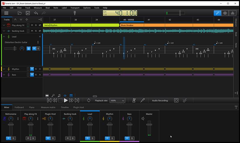 Tonelib Jam full screenshot